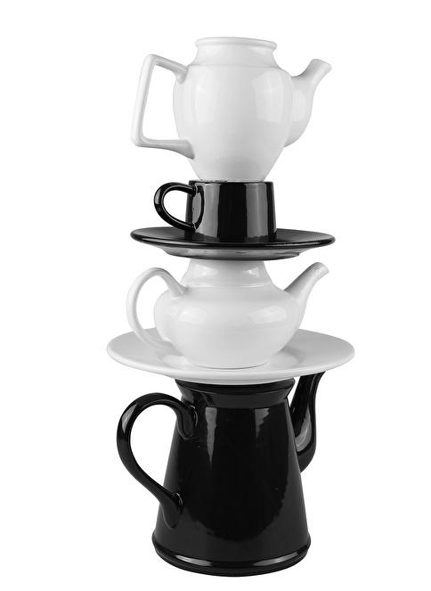 Thanx Co Teapot Colorful Vazo Renkli